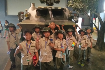 上海亮劍軍事夏令營上海亮劍東方綠舟14天軍事情商夏令營圖片