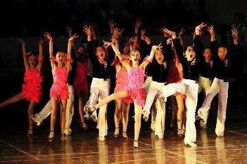 尚舞之星舞蹈培訓少兒拉丁舞:中國國際標準舞總會CBDF認證考級課程圖片