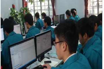 上海数控工程技术学院上海电脑办公自动化培训凯发k8App图片