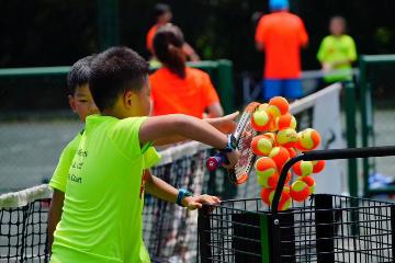 寶貝營天下網球營上海國際網球培訓中心青少兒網球培訓圖片