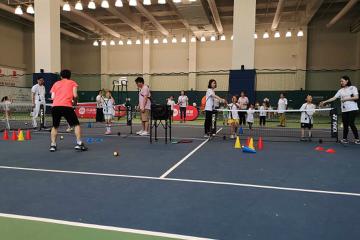 寶貝營天下網球營張江高科技園青少兒網球培訓圖片