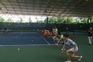 寶貝營天下網球營康橋半島青少兒網球培訓圖片
