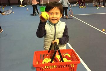 寶貝營天下網球營徐匯苑青少兒網球培訓圖片