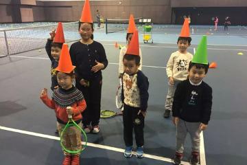 寶貝營天下網球營望族新苑青少兒網球培訓圖片
