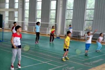 寶貝營天下羽毛球營楊浦體育場圖片