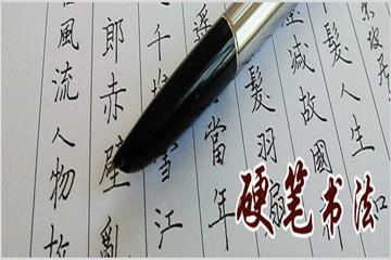 东书房硬笔书法课程图片