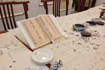 上海弘毅国学教育上海弘毅国学书法培训凯发k8App图片图片