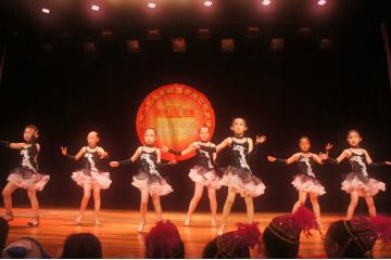 上海上戏小艺星少儿拉丁舞图片图片