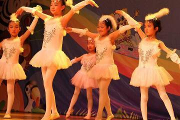 上海上戲小藝星精品芭蕾舞圖片圖片