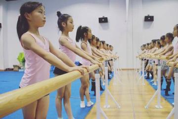 杭州去野兔體育藝術杭州少兒藝術體操培訓課程圖片