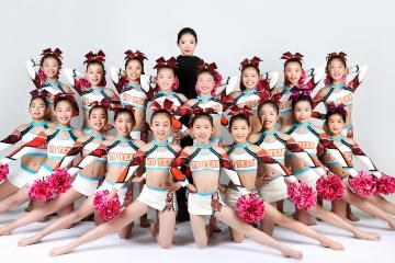杭州去野兔體育藝術杭州少兒啦啦操基礎培訓課程圖片