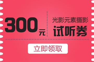 光影元素摄影价值300体验券