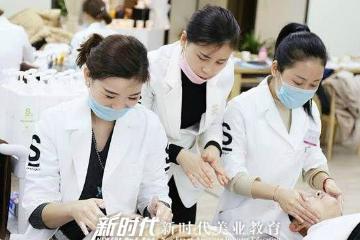 廣東新時代美容美發化妝培訓學校國際專業美容師全能培訓課程圖片圖片