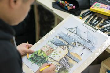 北京火星時代教育北京火星時代商業插畫設計培訓班圖片