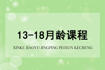 上海新爱婴早教中心新爱婴*13-18月龄凯发k8App图片图片