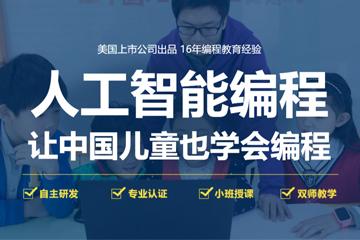 上海童程童美少兒編程培訓學校上海童程童美少兒人工智能編程課程圖片