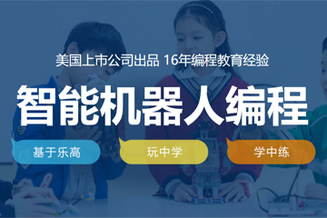 上海童程童美少兒編程培訓學校上海童程童美少兒智能機器人編程課程圖片