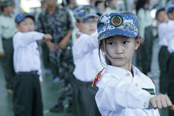 """上海西点军事夏令营2020上海西点军事夏令营海军七天""""加勒比海盗""""作战计划图片图片"""