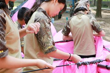 上海西点军事夏令营2021年上海西点军事夏令营14天精英女兵特训营图片图片