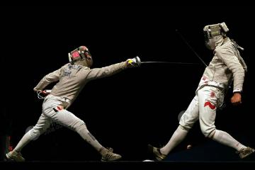 昂立慧动体育昂立击剑明星训练班图片图片