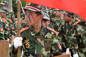 中國121軍事夏令營7天特種部隊一對一觸動營圖片