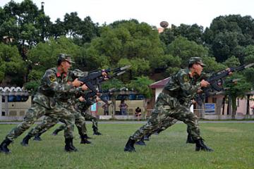 中國121軍事夏令營14天特種兵成長挑戰營圖片
