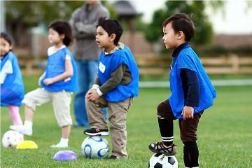 武漢翼時代體育培訓學校武漢翼時代少兒足球訓練營圖片圖片