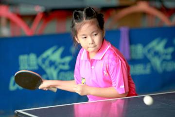 武漢翼時代體育培訓學校武漢翼時代少兒乒乓球訓練營圖片圖片