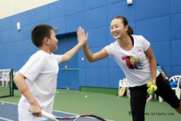 天津聚龍體育聚龍網球培訓-一對一私教課程圖片圖片