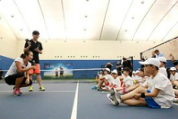 天津聚龍體育聚龍網球培訓-一對二課程圖片圖片