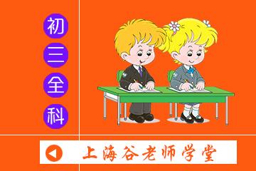 上海谷老师学堂初三全科冲刺小班课程图片