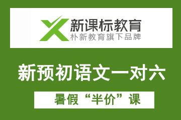"""上海新课标教育中心首页新预初语文一对六暑假""""半价""""课图片"""