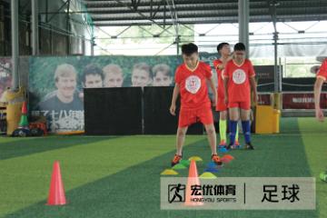 杭州宏優體育杭州足球培訓班圖片圖片