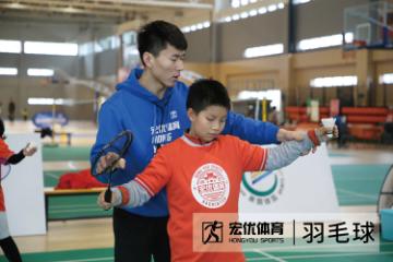 杭州宏優體育杭州羽毛球培訓班圖片圖片