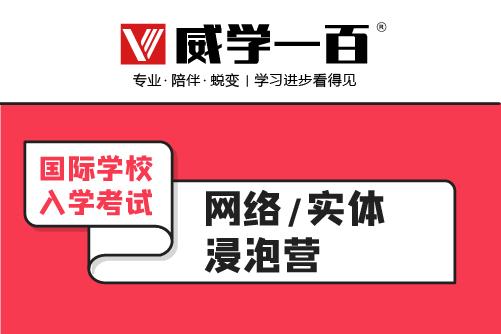 广州威学一百教育广州国际学校入学考试浸泡培训班图片图片