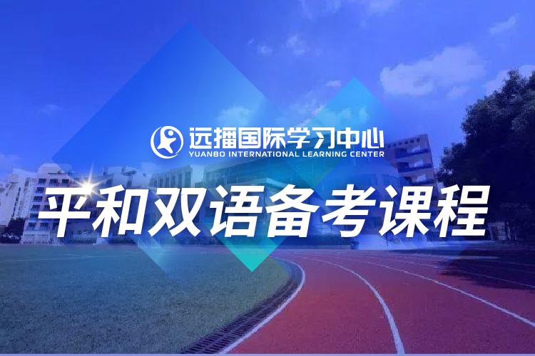 上海远播国际学习中心上海平和双语国际学校入学备考凯发k8App图片