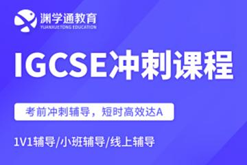 渊学通国际教育国际高中IGCSE冲刺凯发k8App图片